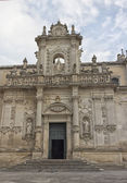 Cathedral of Santa Maria Assunta in Lecce — Stock Photo