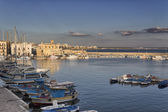 Bay between Rivelino and Canneto in Gallipoli (Le) — Stock Photo