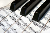 Piyano arka plan — Stok fotoğraf