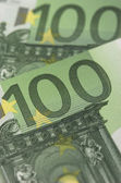 Eurosedlar — Stockfoto