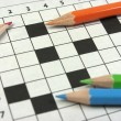Crossword. Back to school — Foto de Stock