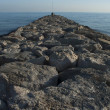 Breakwater. Seascape — Stock Photo #32903095