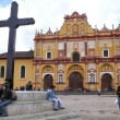 San Cristobal de las Casas cathedral. Mexico — Stock Photo