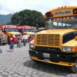 Stock Photo: Bus. Antigua. Guatemala