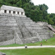 Temple of the Inscriptions. Palenque. Chiapas. Mexico — Stock Photo