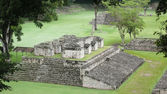 Ballcourt. Copan. Honduras — Stock Photo