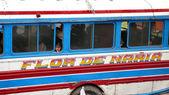 Bus. Todos Santos Cuchumatan. Guatemala — Stock Photo
