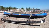 Malagasy canoe. Madagascar — Stock fotografie