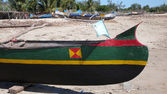 Malagasy canoe. Madagascar — Foto Stock
