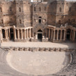Theater of Bosra, Syria — Stock Photo