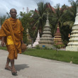 Stock Photo: Monk in Siem Reap. Cambodia.