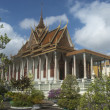 Silver Pagoda. Phnom Penh. Cambodia — Stock Photo
