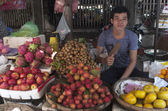 Market of Kompong Cham. Cambodia — Stock Photo