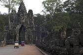 Angkor Thom. Siem Reap. Cambodia — Stock Photo