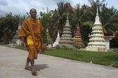 Monk in Siem Reap. Cambodia. — Stock Photo
