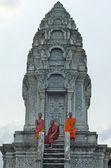 Monk in Kompong Chhnang. Cambodia. — Stock Photo