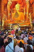 Wat Phanan Choeng, Ayutthaya, Thailand — Stock Photo