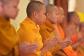 Monks, Chiang Mai, Thailand — Stock Photo