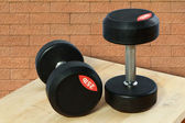 Dumbbell for weight training - include two path — Stock Photo