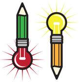 идея карандаши — Cтоковый вектор