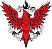 Ateşli Kardinal — Stok Vektör