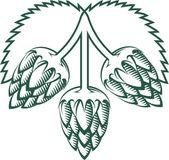 Tri-Hop Emblem — Stock Vector