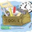 Tool Time — Stock Vector