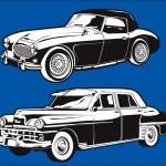 Постер, плакат: Vintage Cars