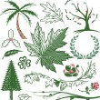 Greenery Collection — Imagen vectorial