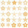 Star Collection — Stock Vector #32416723