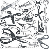 Scissor Collection — Stock vektor