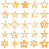 Star Collection — Stock Vector