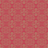 Rizado patrón ornamental — Vector de stock