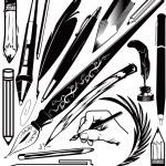 Pens & Pencils — Stock Vector #32667979