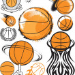 Basketball Collection — Stock Vector #32895313