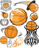 Basketball Collection — Stock Vector
