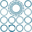 Rings and Circlets — Vector de stock