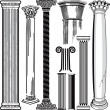 Column Collection — Stock Vector