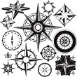 Compass Collection — Stock Vector
