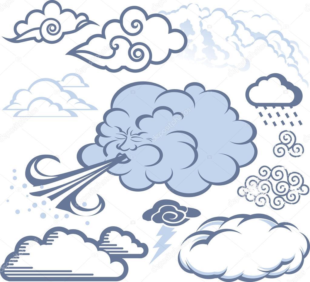 Pin Cloud Blowing Wind...