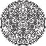 Aztec Mandala — Stock Vector #34561723