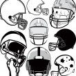 Football Helmet Collection — Stock Vector #34833795