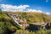 Casca D'anta waterfalls - Serra da Canastra National Park - Mina — Stock Photo
