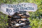 Source of the River Sao Francisco - Minas Gerais - Brazil — Stock Photo