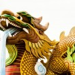 dragon d'or — Photo #34663021
