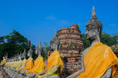 Temple of ayuthaya, thailand — Stock Photo