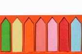 Kolorowe znaczniki i etykiety — Zdjęcie stockowe
