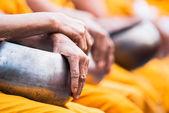 Monk' s tigela de esmolas — Fotografia Stock