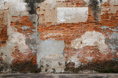 Old brick wall as background — Stock Photo