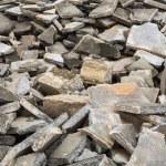 Broken concrete floor — Stock Photo